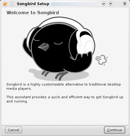 Ahora Songbird nos da la bienvenida